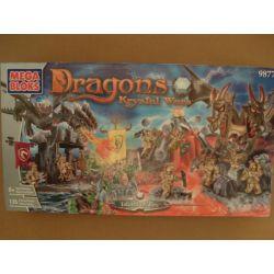 MEGA BLOKS 9877 Xếp hình kiểu Lego Island Of Fire Fire Island Đảo Lửa 135 khối