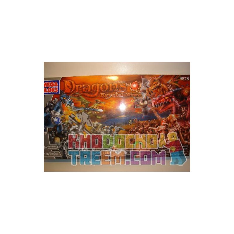 MEGA BLOKS 9878 Xếp hình kiểu Lego Ultimate Battle Trận Chiến Cuối Cùng 135 khối
