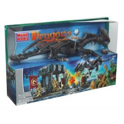 MEGA BLOKS 9883 Xếp hình kiểu Lego Sea Dragon Rồng Biển 55 khối