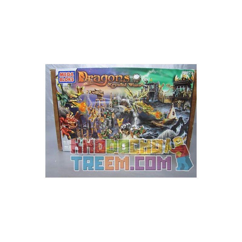 MEGA BLOKS 98921 Xếp hình kiểu Lego Battle Chest War Box Hộp Chiến Tranh 355 khối