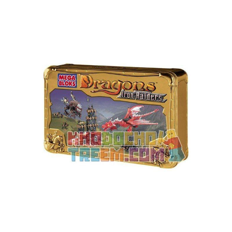 MEGA BLOKS 9650 9850 Xếp hình kiểu Lego Raiders Keep Raiders Giữ gồm 2 hộp nhỏ 160 khối
