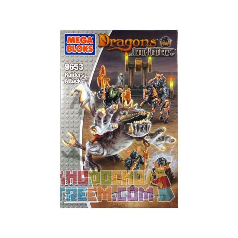 MEGA BLOKS 9653 Xếp hình kiểu Lego Outpost Attack Foressenger Cuộc đột Kích Tiền đồn 35 khối