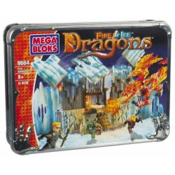 MEGA BLOKS 9664 Xếp hình kiểu Lego Fire Ambush Flame Ambush Ngọn Lửa Phục Kích 80 khối