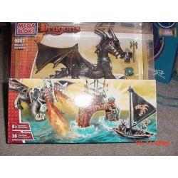 MEGA BLOKS 9807 Xếp hình kiểu Lego Wizard's Sea Assault Wizard's Ocean Attack Cuộc Tấn Công đại Dương Của Wizard 30 khối