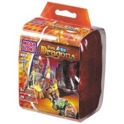 MEGA BLOKS 9856 Xếp hình kiểu Lego Fire Sentry Flame Sentinel Flame Sentinel. 29 khối