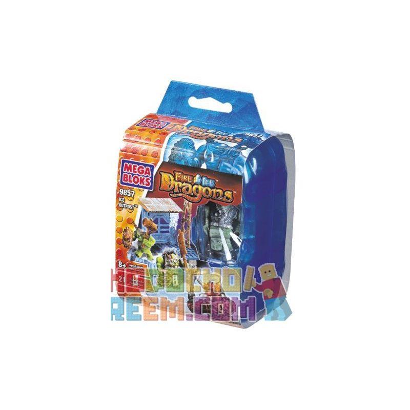 MEGA BLOKS 9857 Xếp hình kiểu Lego Ice Outpost Oddist Tiền đồn Băng 21 khối