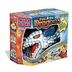 MEGA BLOKS 9859 Xếp hình kiểu Lego Ice Claw Chuột Rút 7 khối