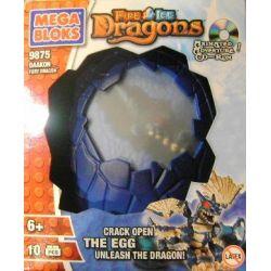 MEGA BLOKS 9875 Xếp hình kiểu Lego Ice Dragon Rồng Băng 10 khối