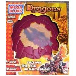 MEGA BLOKS 9892 Xếp hình kiểu Lego Smoke Dragon Smoky Rồng Khói 10 khối