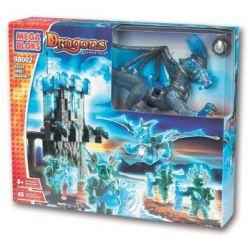 MEGA BLOKS 98002 Xếp hình kiểu Lego Water Ghost Dragon Rồng Ma Nước 45 khối