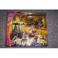 MEGA BLOKS 98004 Xếp hình kiểu Lego Tempest Ghost Dragon Storm Ghost Dragon Storm Ghost Dragon 45 khối