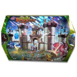 MEGA BLOKS 9435 Xếp hình kiểu Lego CASTLE Valor Castle Heroic Castle Lâu đài Anh Hùng 395 khối