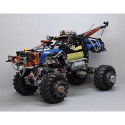 MOULDKING MOULD KING 18006 REBRICKABLE MOC-35305 35305 MOC35305 Xếp hình kiểu Lego TECHNIC Rebel Tow Truck Doomsday Drag Thẻ Kéo Ngày Tận Thế 1507 khối