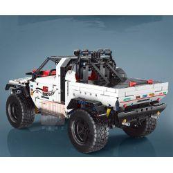 ZHEGAO 00825 00826 00827 00828 00829 00830 Xếp hình kiểu Lego TECHNIC Whiteship Buggy gồm 6 hộp nhỏ 2013 khối