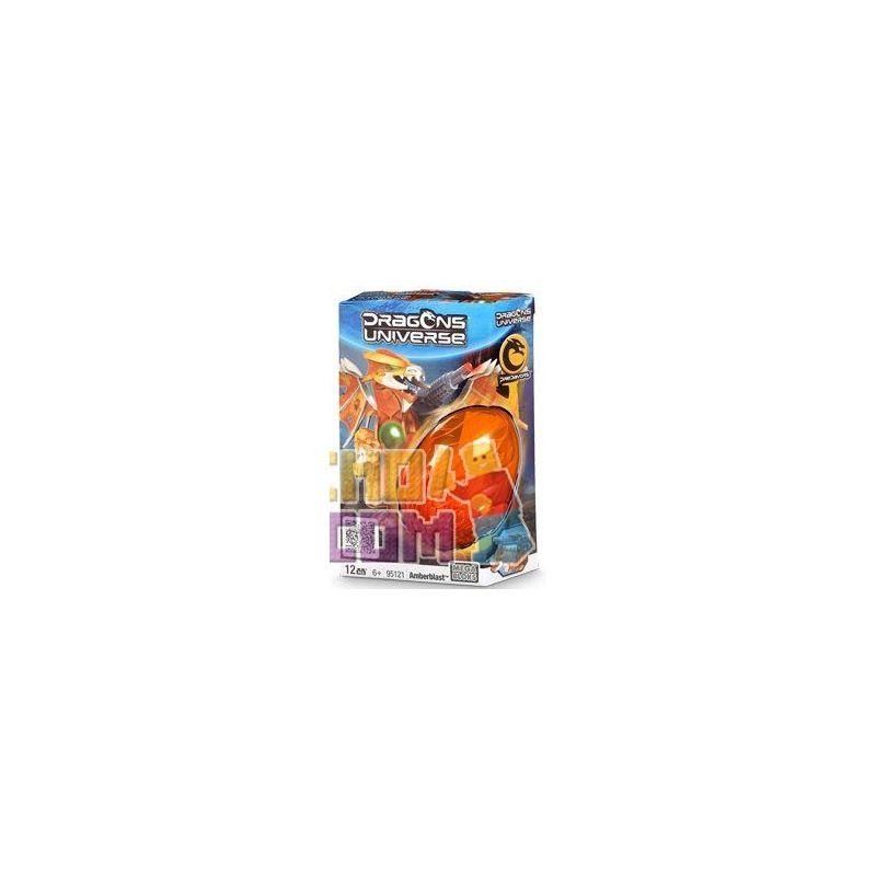 MEGA BLOKS 95121 Xếp hình kiểu Lego Amberblast Amberblast. 12 khối