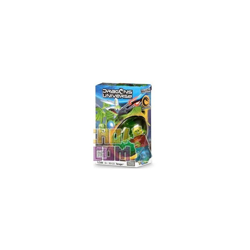 MEGA BLOKS 95122 Xếp hình kiểu Lego Terager Terager. 12 khối