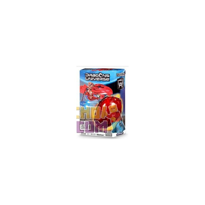 MEGA BLOKS 95123 Xếp hình kiểu Lego Albatross Chim Hải âu 26 khối