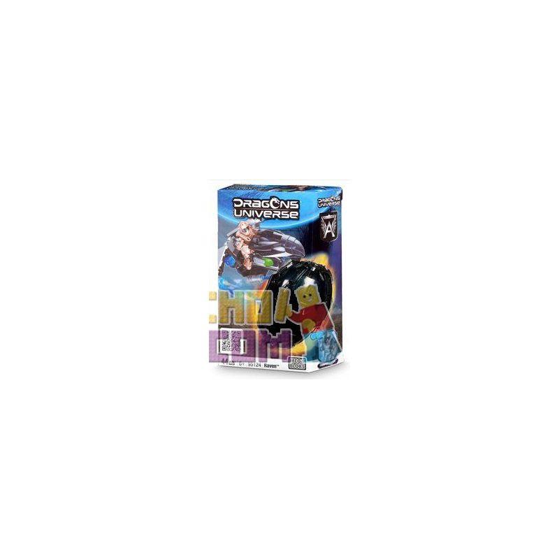 MEGA BLOKS 95124 Xếp hình kiểu Lego Raven Raven. 44 khối
