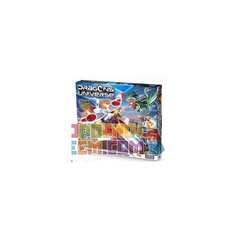 MEGA BLOKS 95208 Xếp hình kiểu Lego Hyper Assault Dragon Slayer Super Raid Butcher Super Raid Butcher. 153 khối