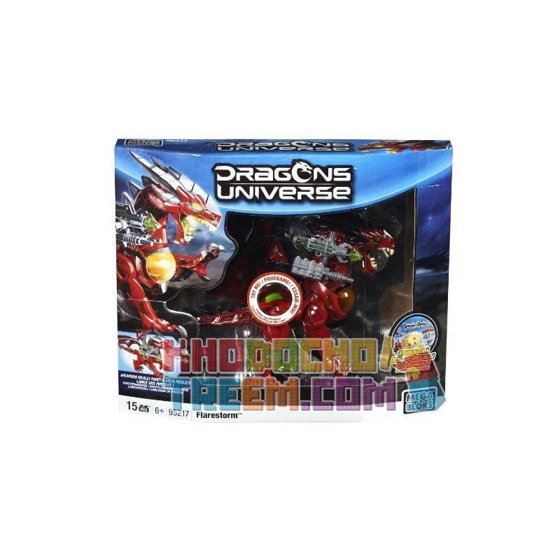 MEGA BLOKS 95217 Xếp hình kiểu Lego Flarestorm Flare Storm Bão Bùng 15 khối