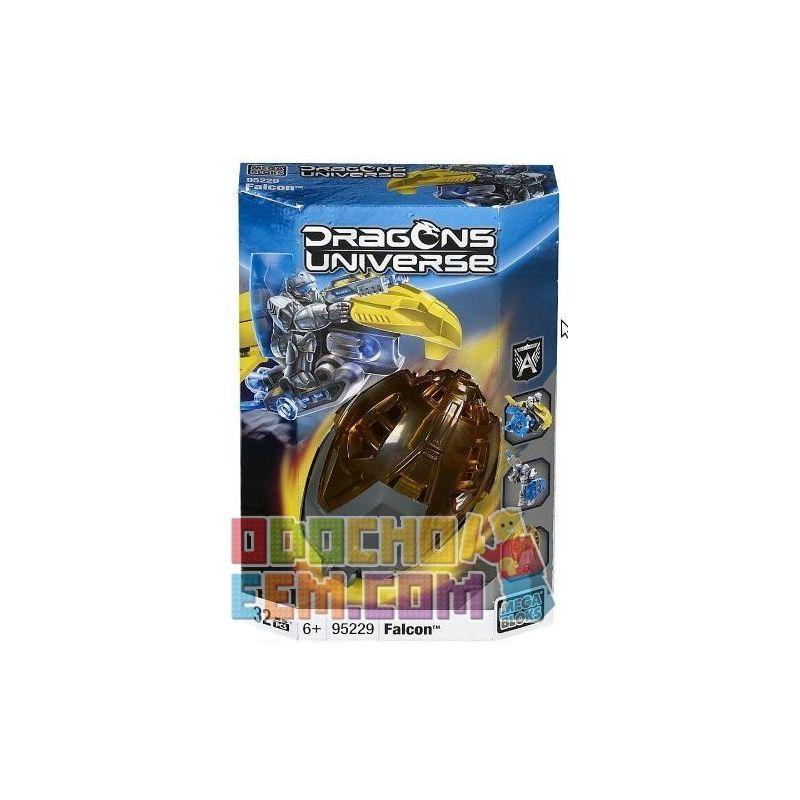 MEGA BLOKS 95229 Xếp hình kiểu Lego Falcon Chim ưng 12 khối
