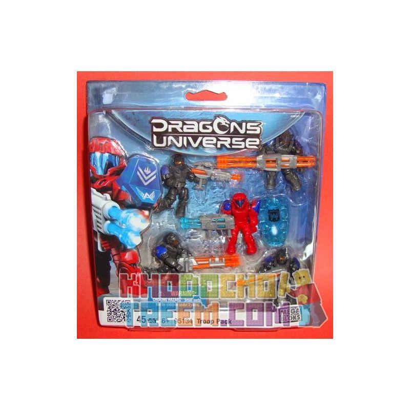 MEGA BLOKS 95134V Xếp hình kiểu Lego Troop Pack Soldier Bag Túi Lính 45 khối