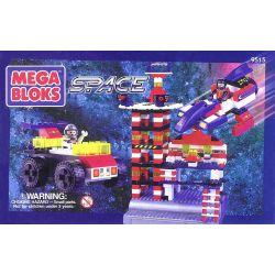 MEGA BLOKS 9515 Xếp hình kiểu Lego SPACE Space Bucket Thùng Vũ Trụ 340 khối