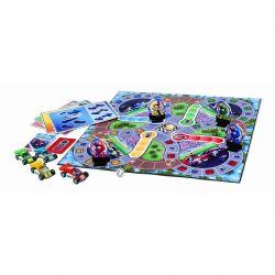 MEGA BLOKS 51981 Xếp hình kiểu Lego SPEED CHAMPIONS RACE CAR BUILDER GAME Racing Builder Game Trò Chơi Xây Dựng đường đua 116 khối