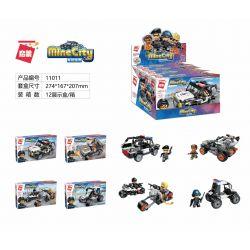 Enlighten 11011-1 11011-2 11011-3 11011-4 Qman 11011-1 11011-2 11011-3 11011-4 KEEPPLEY 11011-1 11011-2 11011-3 11011-4 Xếp hình kiểu Lego MINECITY My City Police Small Box 4 Multi-purpose Special Pol