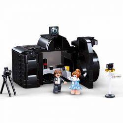 SLUBAN M38-B0882 B0882 0882 M38B0882 38-B0882 Xếp hình kiểu Lego CHINATOWN Creator Odd Hut Camera Store Cửa Hàng Máy ảnh 293 khối