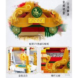 SLUBAN M38-B0935 B0935 0935 M38B0935 38-B0935 Xếp hình kiểu Lego FAIRY SWORDPLAY Yunxiao Temple Cung điện Mây 2083 khối