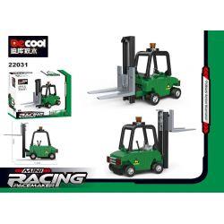 BRICKCOOL 22031 22032 22033 22034 Xếp hình kiểu Lego MINI RACING PACEMAKER MINI Backstart 4 Forklifts, Dump Trucks, Riot Police Cars, Fire Trucks 4 Loại Xe Nâng, Xe Ben, Xe Cảnh Sát Chống Bạo động, Xe