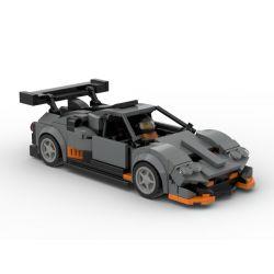 PanlosBrick 666017 Panlos Brick 666017 REBRICKABLE MOC-33637 33637 MOC33637 Xếp hình kiểu Lego SPEED CHAMPIONS Pagani Huayra Imola Papani Huayra Papani Huayra. 336 khối