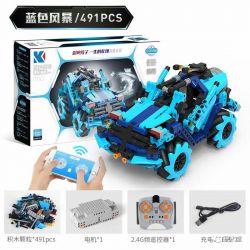 KAIYU M10 M20 M30 Xếp hình kiểu Lego MINDSTORMS Wheat Programming Universal McNam Wheel Remote Control Car 2 Blue Storm, Red War, Football Storm Xe ô Tô điều Khiển Từ Xa Bánh Xe Universal Mecanum 2 Mẫ