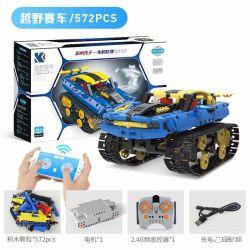 KAIYU B60 Xếp hình kiểu Lego MINDSTORMS Machine Programming Track Cross-country Racing Đua Xe địa Hình Theo Dõi 572 khối