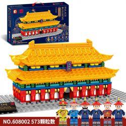 SEMBO 608002 Xếp hình kiểu Lego ARCHITECTURE Palace Building Hall Of Supreme Harmony Court Building Hội Trường Hài Hòa Tối Cao 573 khối