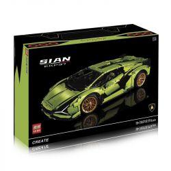 NOT Lego TECHNIC 42115 Lamborghini Sián FKP 37 , 123 BRICKHEAD BUILDING BLOCKS 123-2 BLANK 10005 180169 371008 40001 80096 81996 KJ003 SK81996 81996 HORNS KJ003 LEBO 10273 10273B Xếp hình 3696 khối