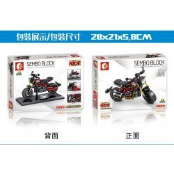 SEMBO 701134 Xếp hình kiểu Lego MOTO Enjoy The Ride Indian FTR 1200 Ấn Độ FTR 1200. 232 khối