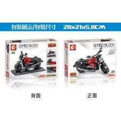 SEMBO 701133 Xếp hình kiểu Lego MOTO Moto Guzzi Audace Carbon Enjoy The Ride Audace Carbon. 265 khối