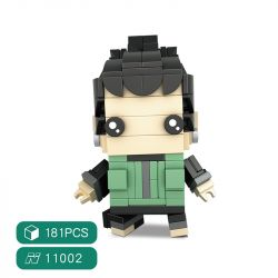 HSANHE 11002-7 SH 11002-7 Xếp hình kiểu Lego Magic Brick Nara Shikamaru Naruto 方 仔 Nara Kamaru 181 khối