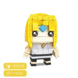 HSANHE 11002-6 SH 11002-6 Xếp hình kiểu Lego Magic Brick Tsunade Naruto Fangtai Fangtai. 150 khối