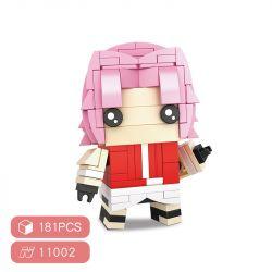 HSANHE 11002-3 SH 11002-3 Xếp hình kiểu Lego Magic Brick Naruto Fangtu Chunyan Sakura Cậu Bé đầu Vuông Haruno Sakura 181 khối
