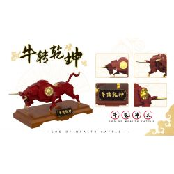 XINGBAO XB-18007 18007 XB18007 Xếp hình kiểu Lego SEASONAL God Of Wealth Cattle Cow Niu Xoay Chuyển Thế Giới 474 khối