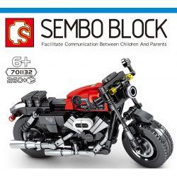 SEMBO 701132 Xếp hình kiểu Lego MOTO Harley-Davidson Roadster Enjoy The Ride Harley Road Harley đường. 260 khối