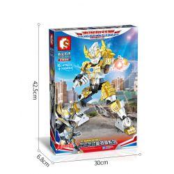 SEMBO 108654 Xếp hình kiểu Lego ULTRAMAN Ultraman Heroes Cosmic Hero Altman Temaha Altman Temaha Altman. 476 khối