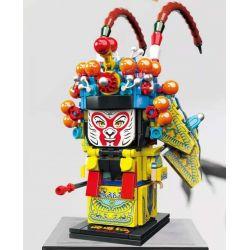 CAYI 10081 Xếp hình kiểu Lego CHINATOWN National Tide Qi Xi Qi Tian Dasheng Sun Wukong Tưởng Nhớ đến Tây Du Ký, Vua Khỉ Vua Khỉ 369 khối
