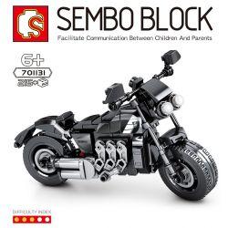 SEMBO 701131 Xếp hình kiểu Lego MOTO Enjoy The Ride Triumph Motorcycle Triumph Motorcycle. 215 khối