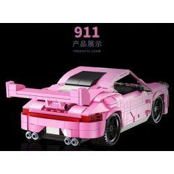 LUCKY STAR 50023 Xếp hình kiểu Lego SPEED CHAMPIONS Porsche 911 Porsche 911. 551 khối