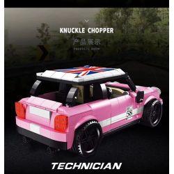 LUCKY STAR 50022 Xếp hình kiểu Lego SPEED CHAMPIONS BMW MINI COOPER BMW MINI COOPER. 503 khối