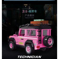 LUCKY STAR 50006 Xếp hình kiểu Lego SPEED CHAMPIONS Car World Landrover Defender Luji Guard Luji Guard. 696 khối